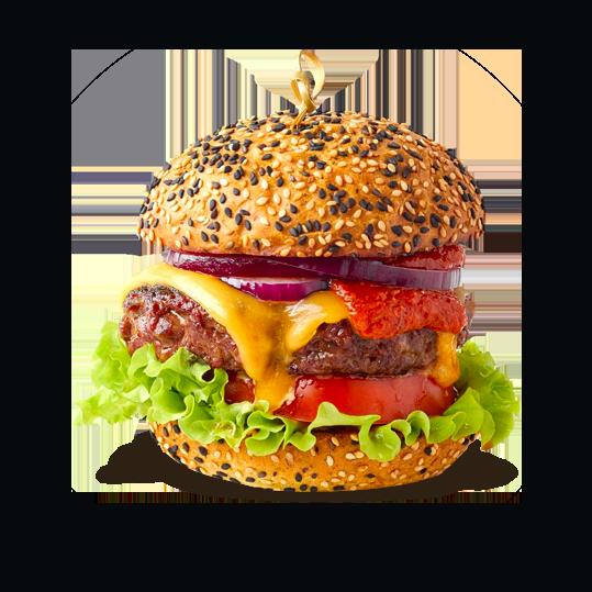 Taste of steak burger<br> is very unique